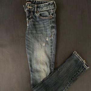 Express Low Rise  Skinny Jeans Size 2